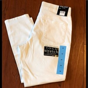 NWT Pull On Skinny Crop Jeans